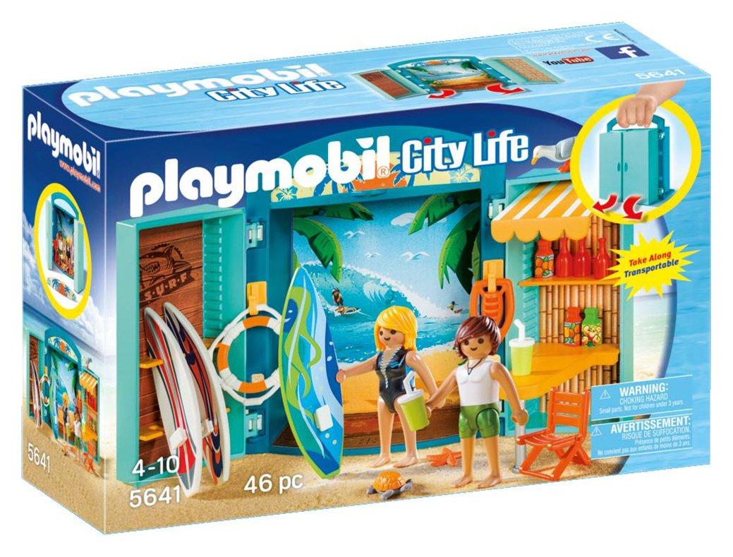 Playmobil 5641 City Life Surf Shop Play Box