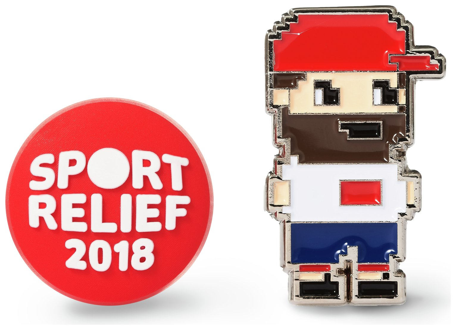 Image of Sport Relief Pin Badges