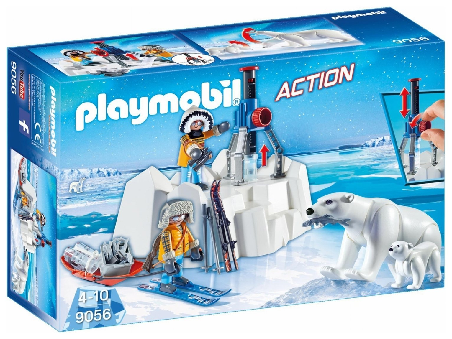 Playmobil 9056 Arctic Explorers Polar Bears