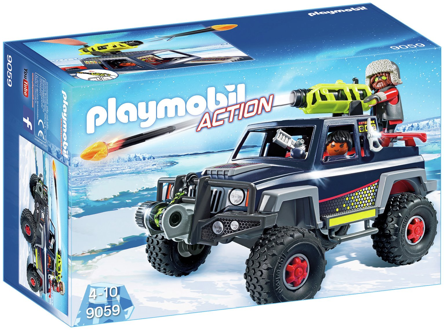 Playmobil 9059 Action Ice Pirates With Snow Truck