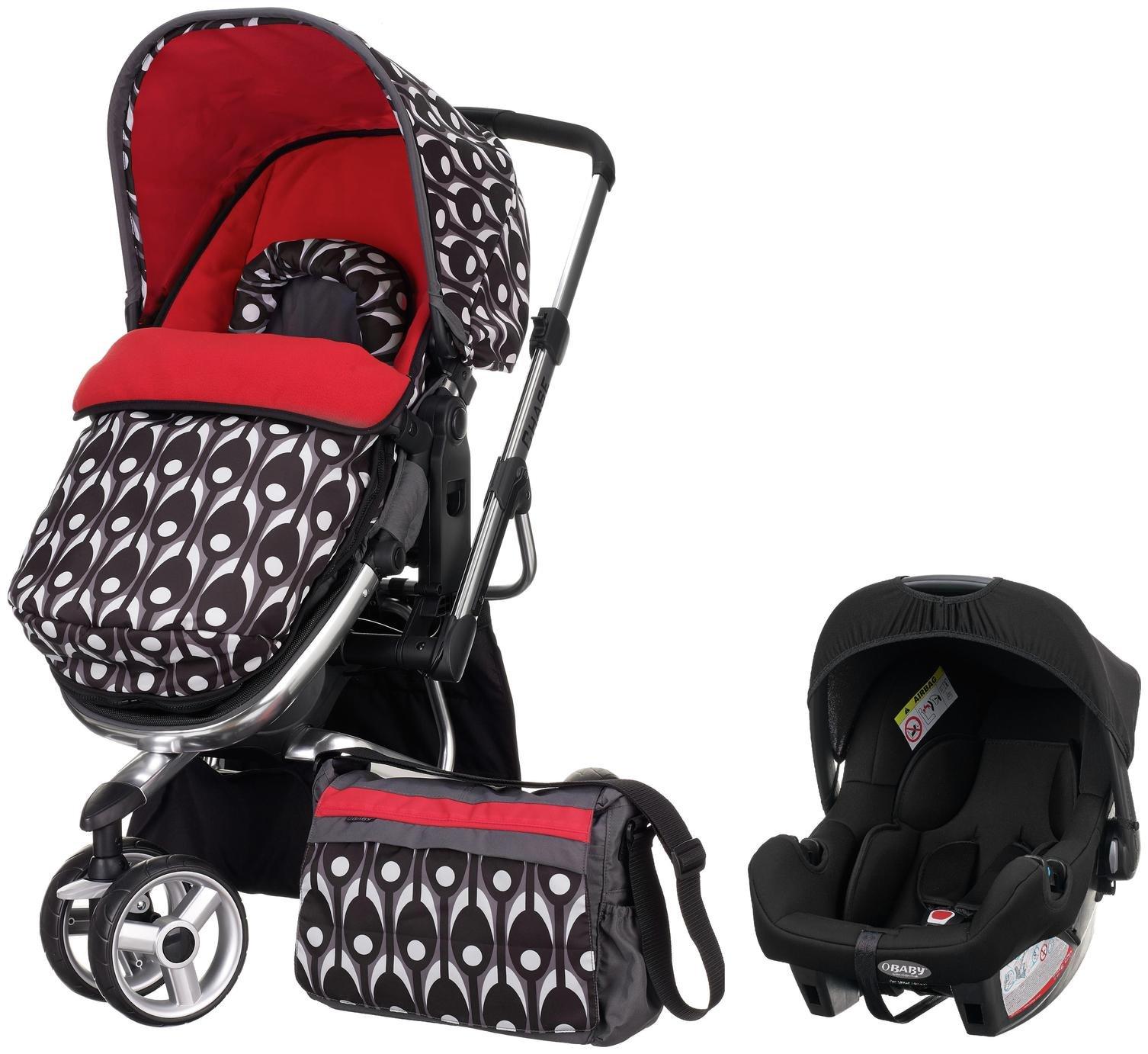 Obaby Chase Stroller Travel System