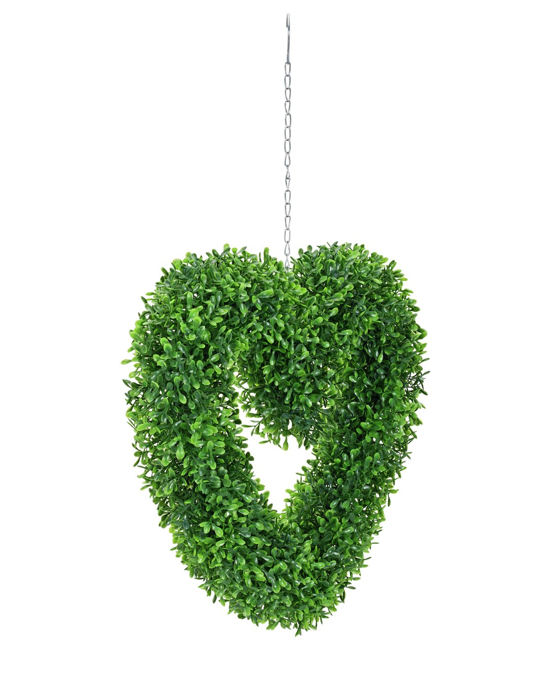Image of Artifical Grass Garden Hanging Heart