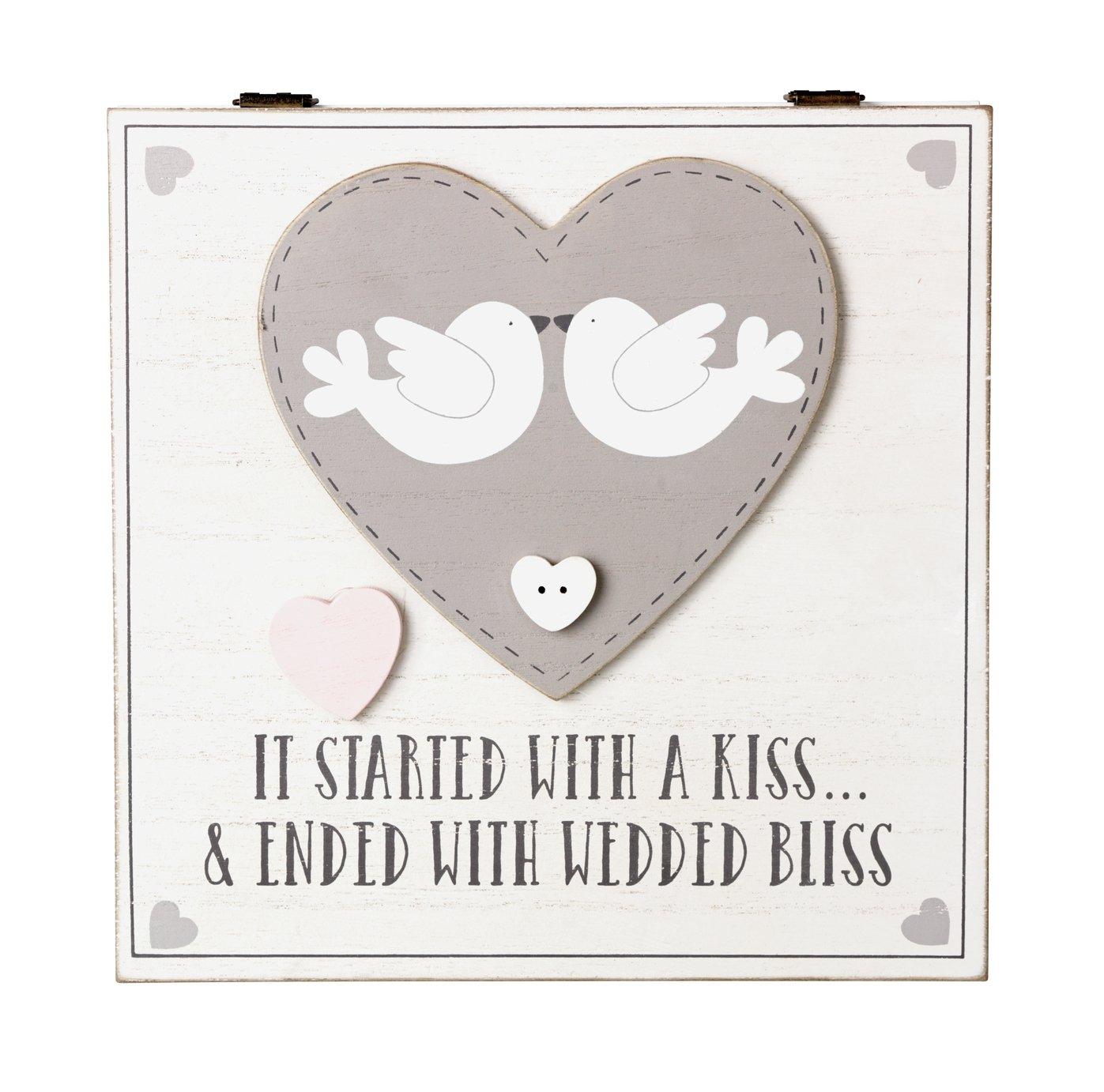 Image of Wedding Keepsake Box