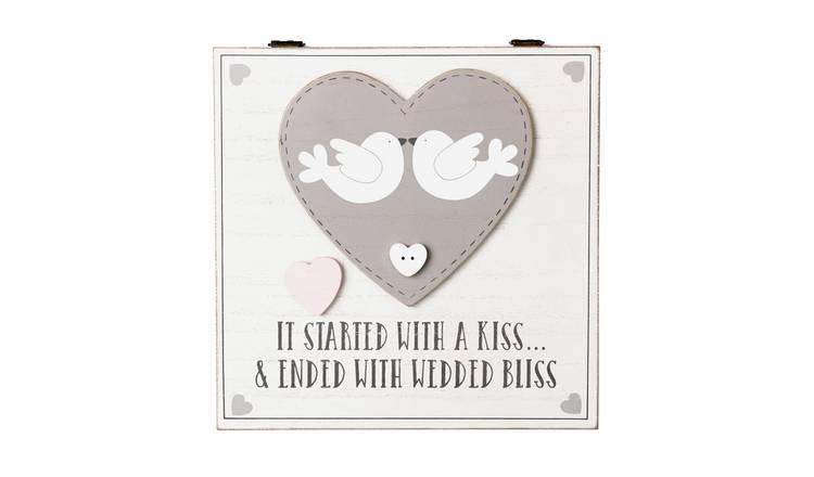 Buy Wedding Keepsake Box Novelty Gifts Argos
