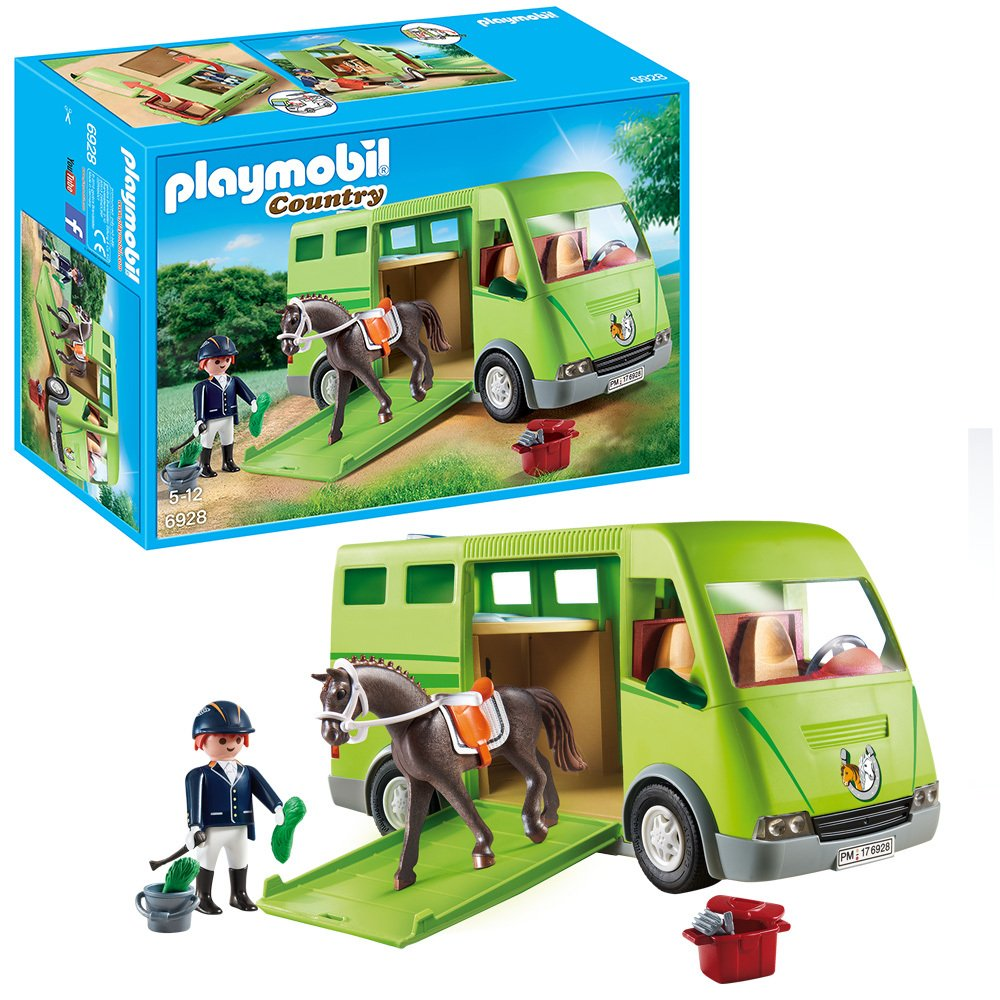 Playmobil 6928 Country Horse Box Opening Side