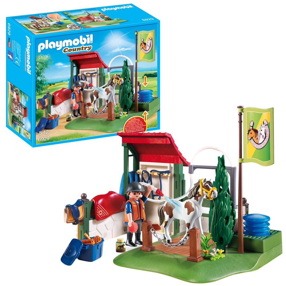 Playmobil 6929 Country Horse Grooming Station