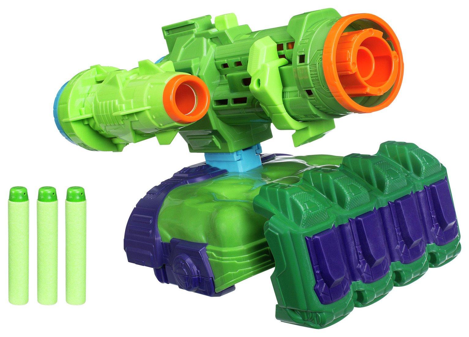 Marvel Avengers Infinity War Nerf Hulk Assembler Gear