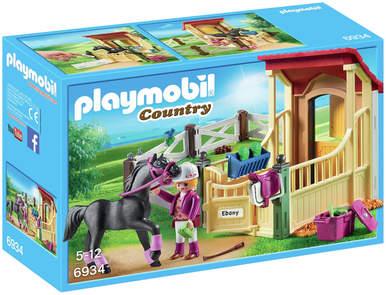 Playmobil 6934 Country Horse Stable Araber