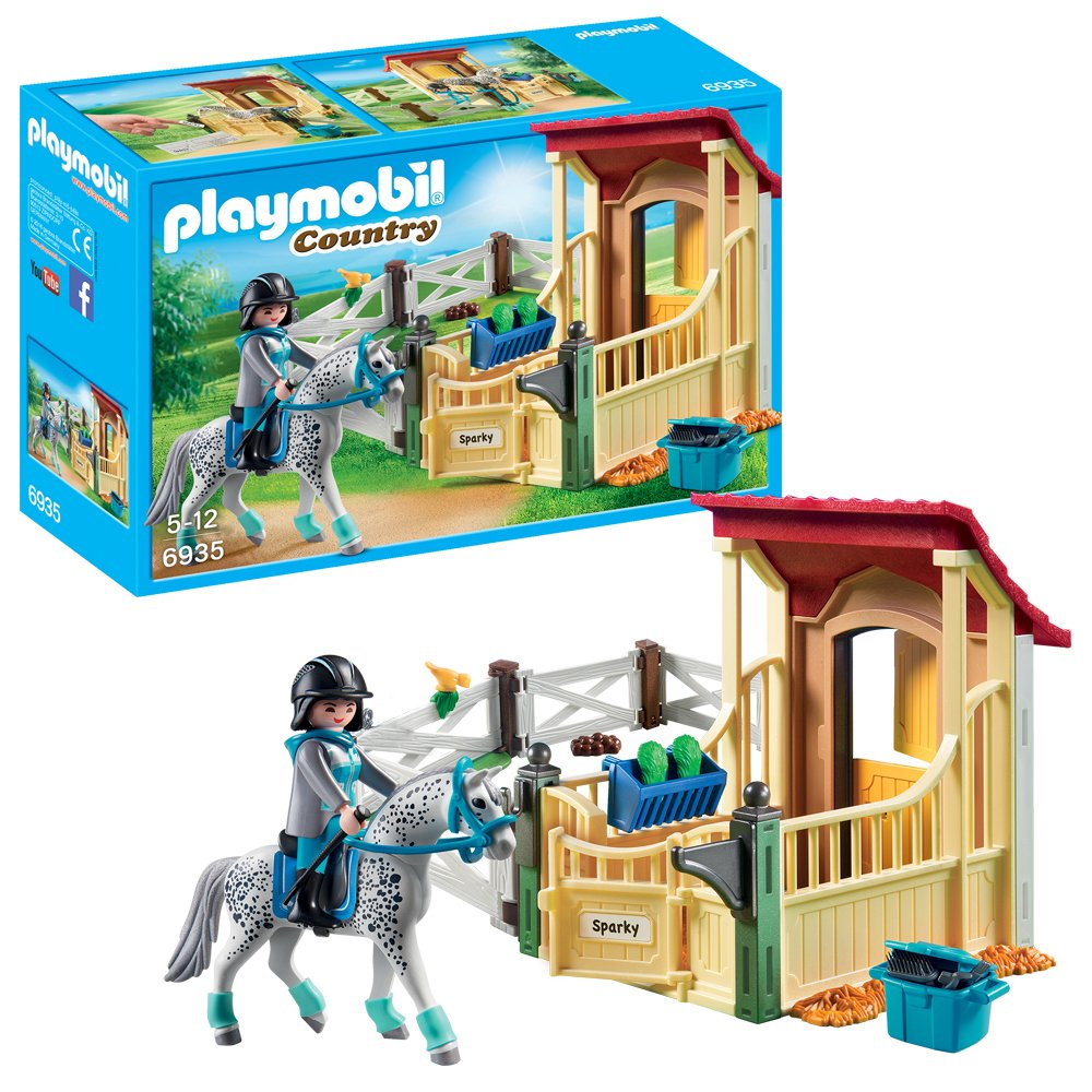 Playmobil 6935 Country Horse Stable Appaloosa