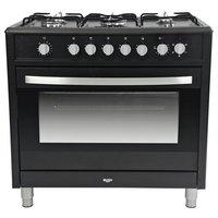 Bush BRCNB90SEBK Dual Fuel Range Cooker - Black