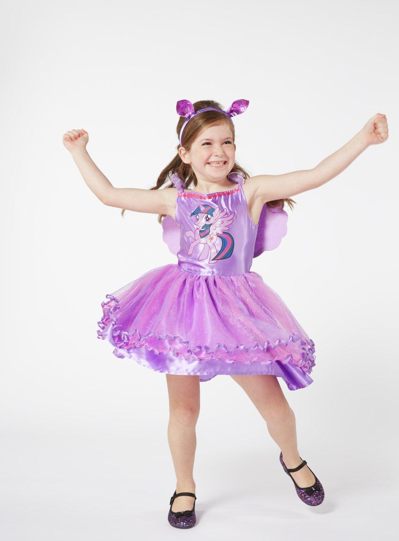 My Little Pony Twilight Sparkle Dress Up Costume - 7-8 Years