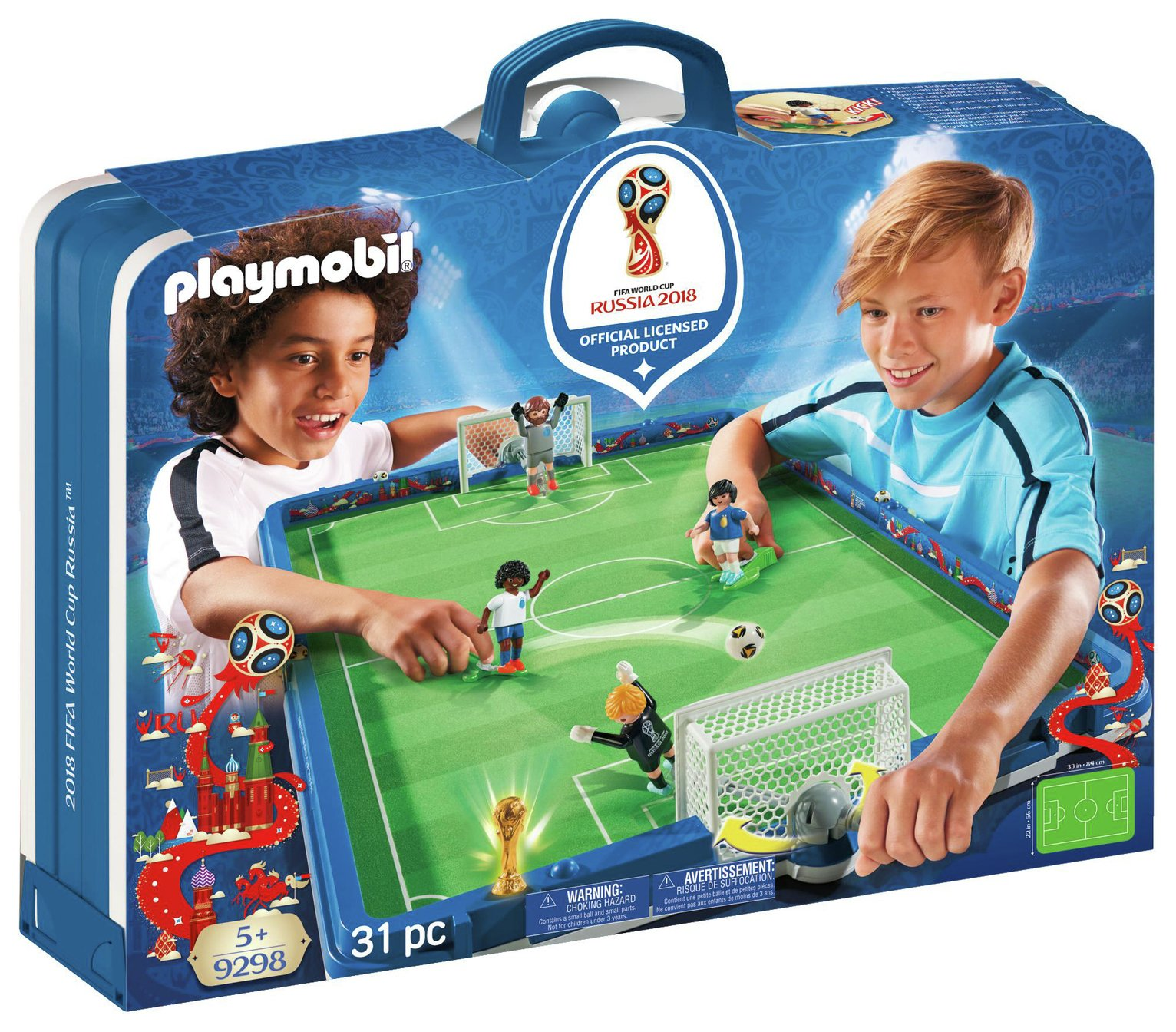 Playmobil 9298 Take Along 2018 FIFA World Cup Russia Arena