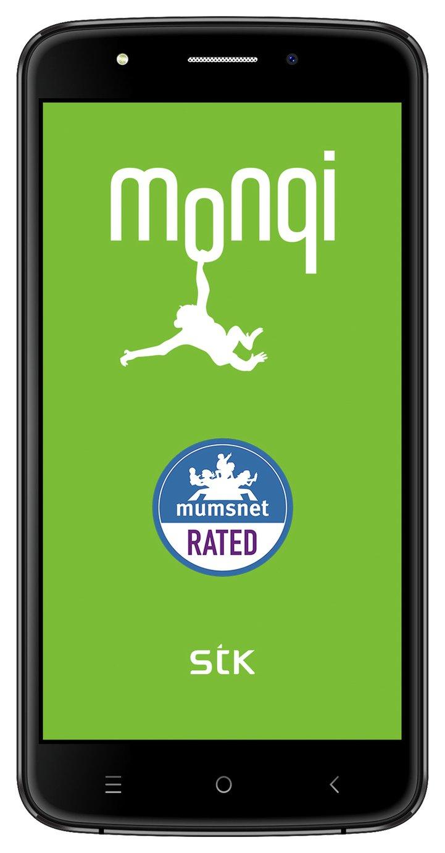 Sim  Free STK Monqi Sync 5E Mobile Phone - Black