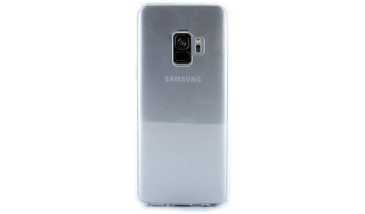 meet 2abe3 9a2cc Buy Proporta Samsung Galaxy S9 Phone Case - Clear | Mobile phone cases |  Argos