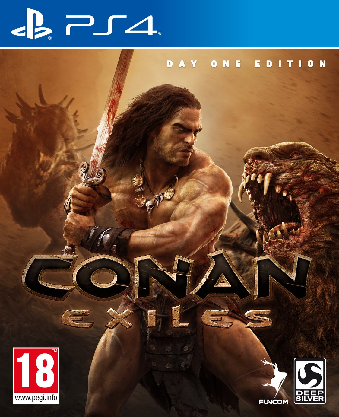 Image of Conan Exiles Day 1 Edition PS4 Pre-Order Game