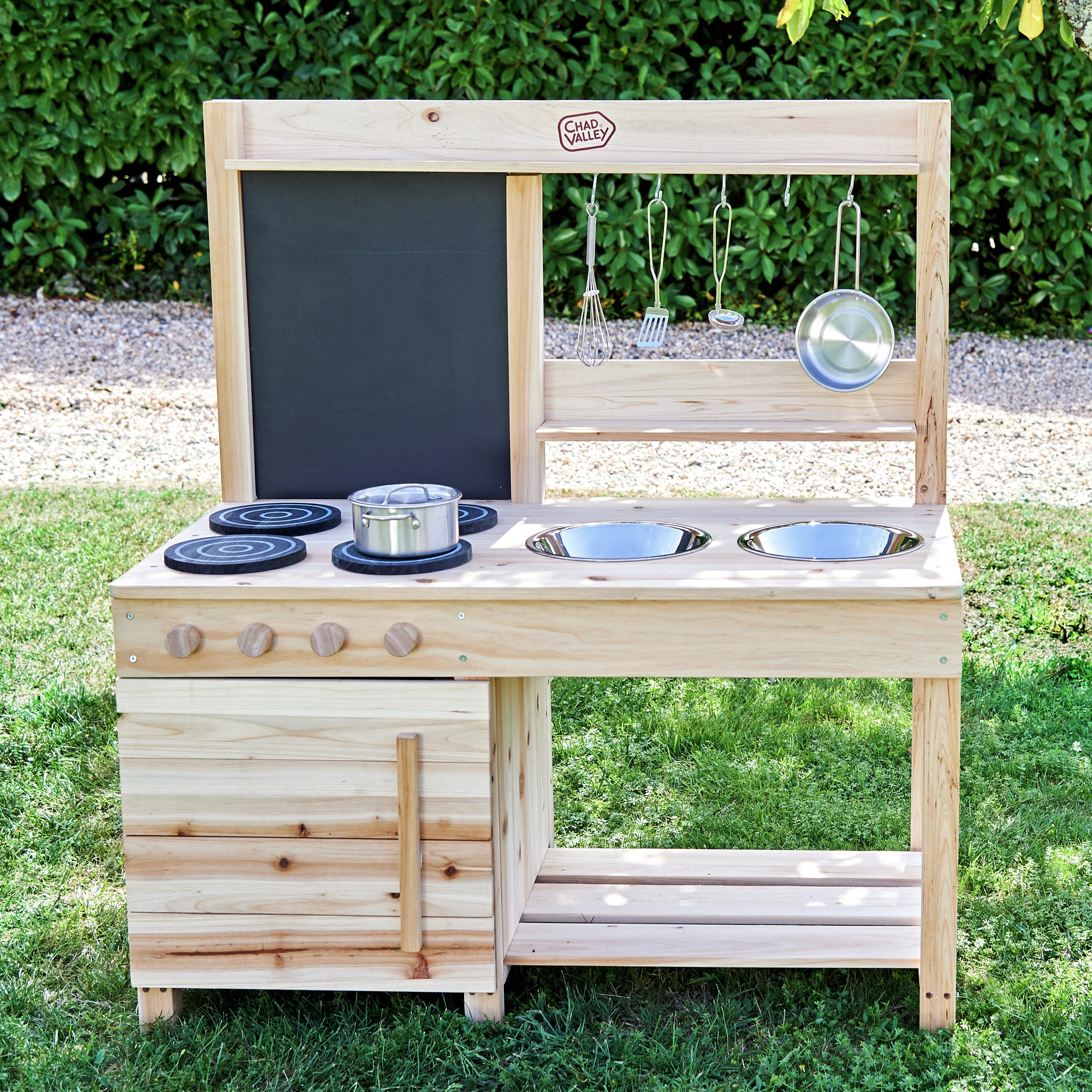 Review Of Chad Valley Wooden Mud Kitchen