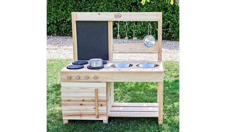 Chad Valley Wooden Mud Kitchen