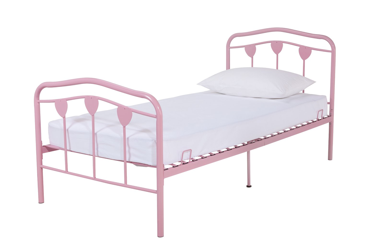 Ordinaire Buy Argos Home Hearts Pink Single Bed Frame | Kids Beds | Argos