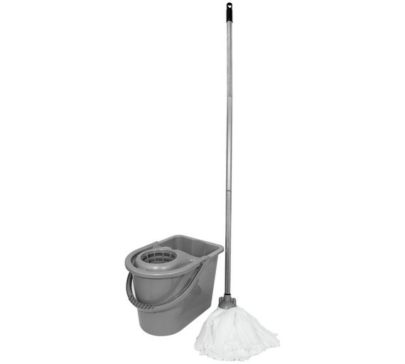 Buy Bentley 14 Litre Mop And Bucket Set Mops Argos