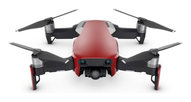 Image of DJI Mavic Air Drone - Flame Red with Controller