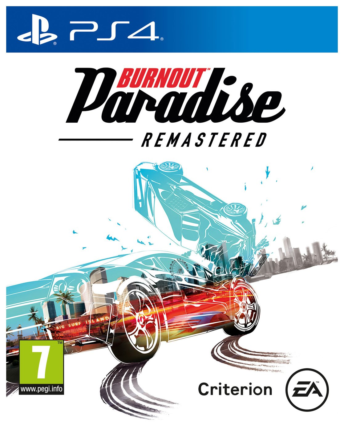 Image of Burnout Paradise Remastered PS4 Game