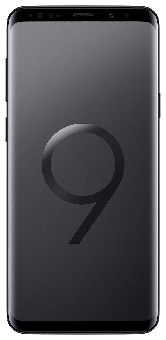 SIM Free Samsung Galaxy S9+ 128GB Mobile - Midnight Black