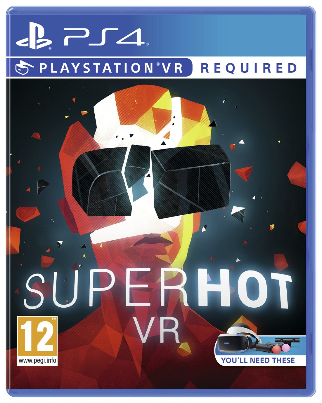 Superhot PS VR Game (PS4)
