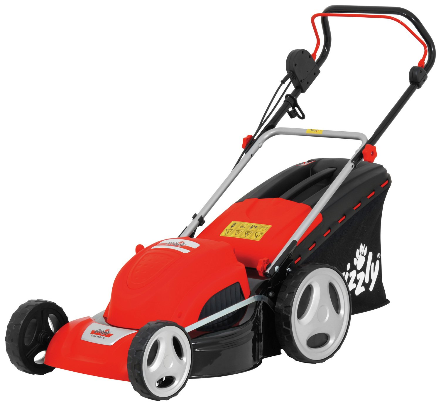 Image of Grizzly Tools Electric Rotary Induction Lawnmower - 1800W
