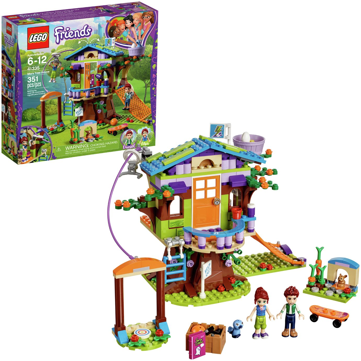 LEGO Friends Heartlake Mia's Tree House Building Set   41335