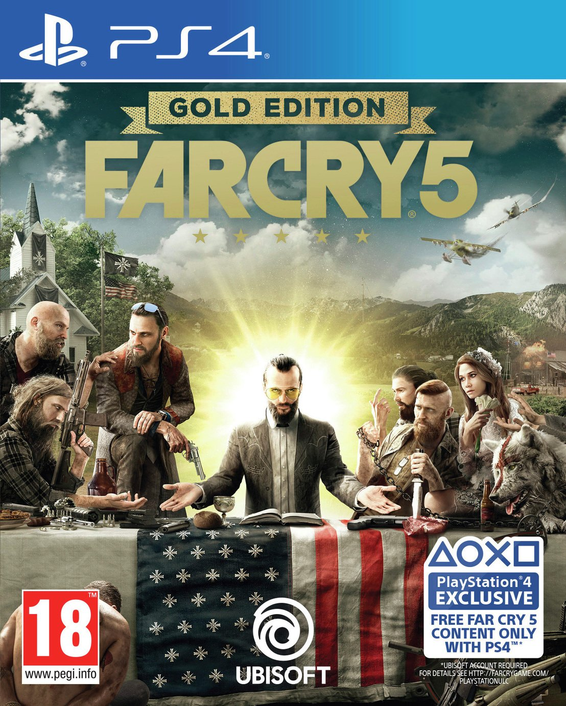 Image of Far Cry 5 Gold Edition PS4 Game