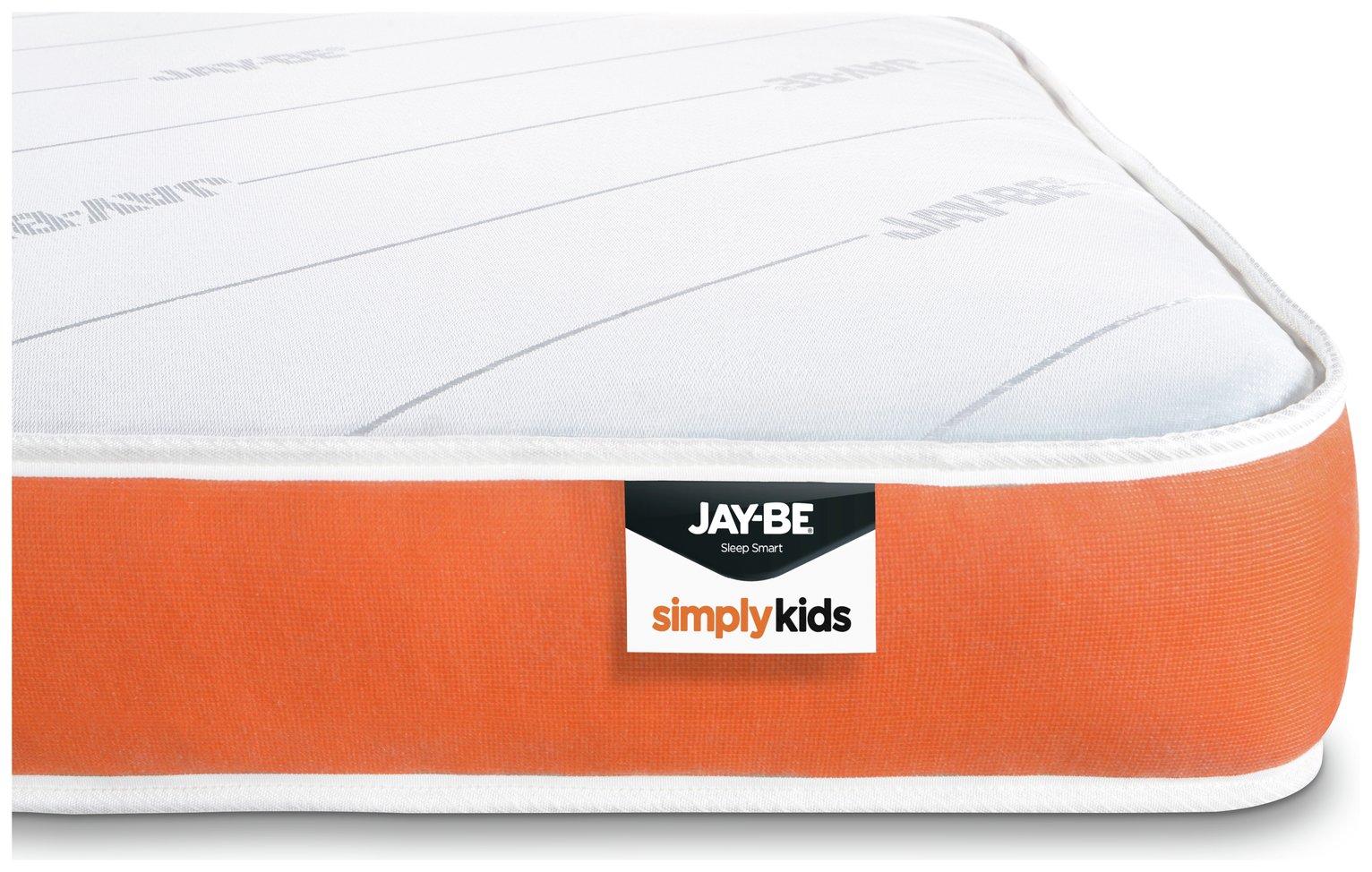 JAY-BE Open Coil Foam Free Kids Single Mattress