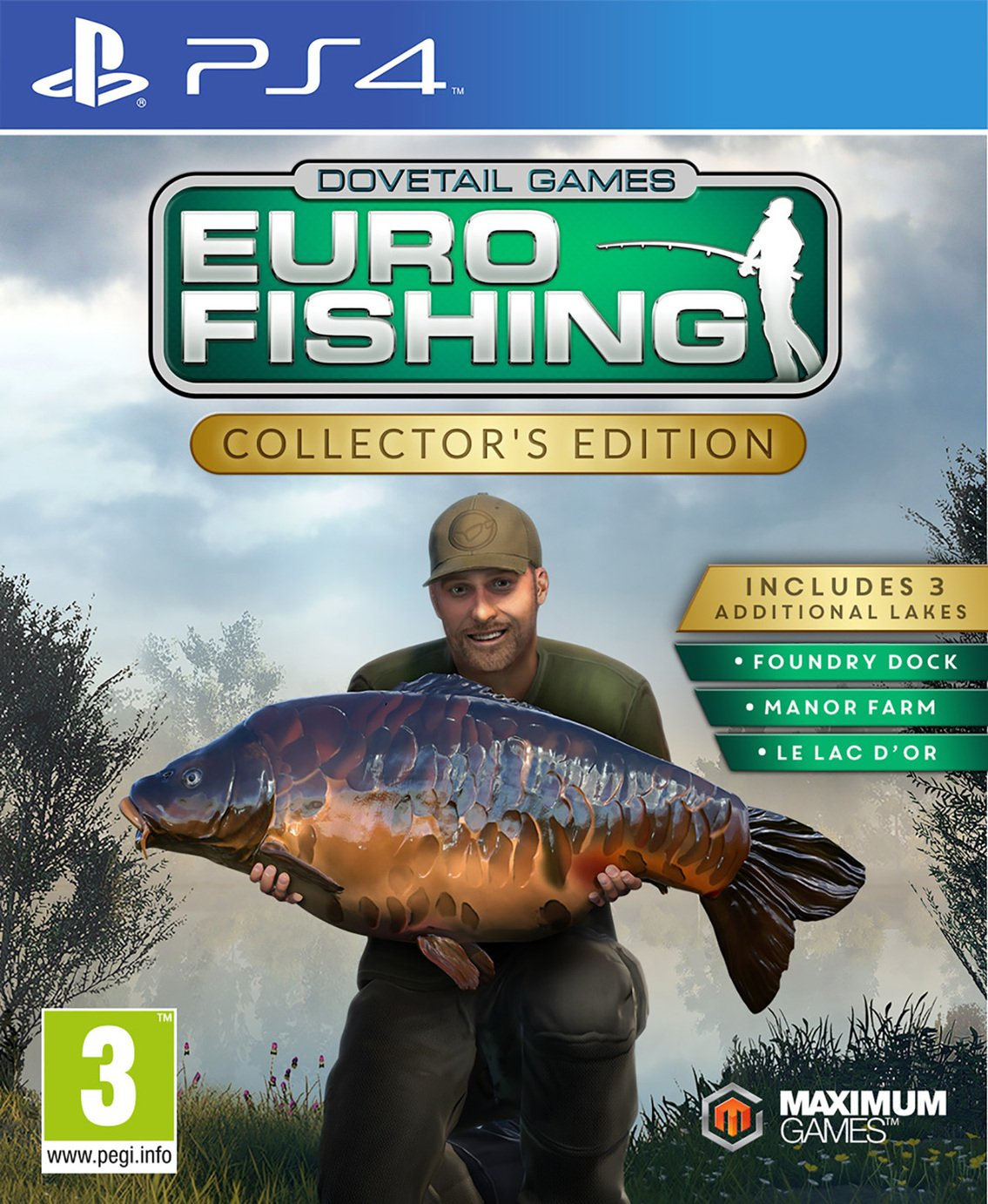 Image of Euro Fishing Sim Collector Edition PS4 Game