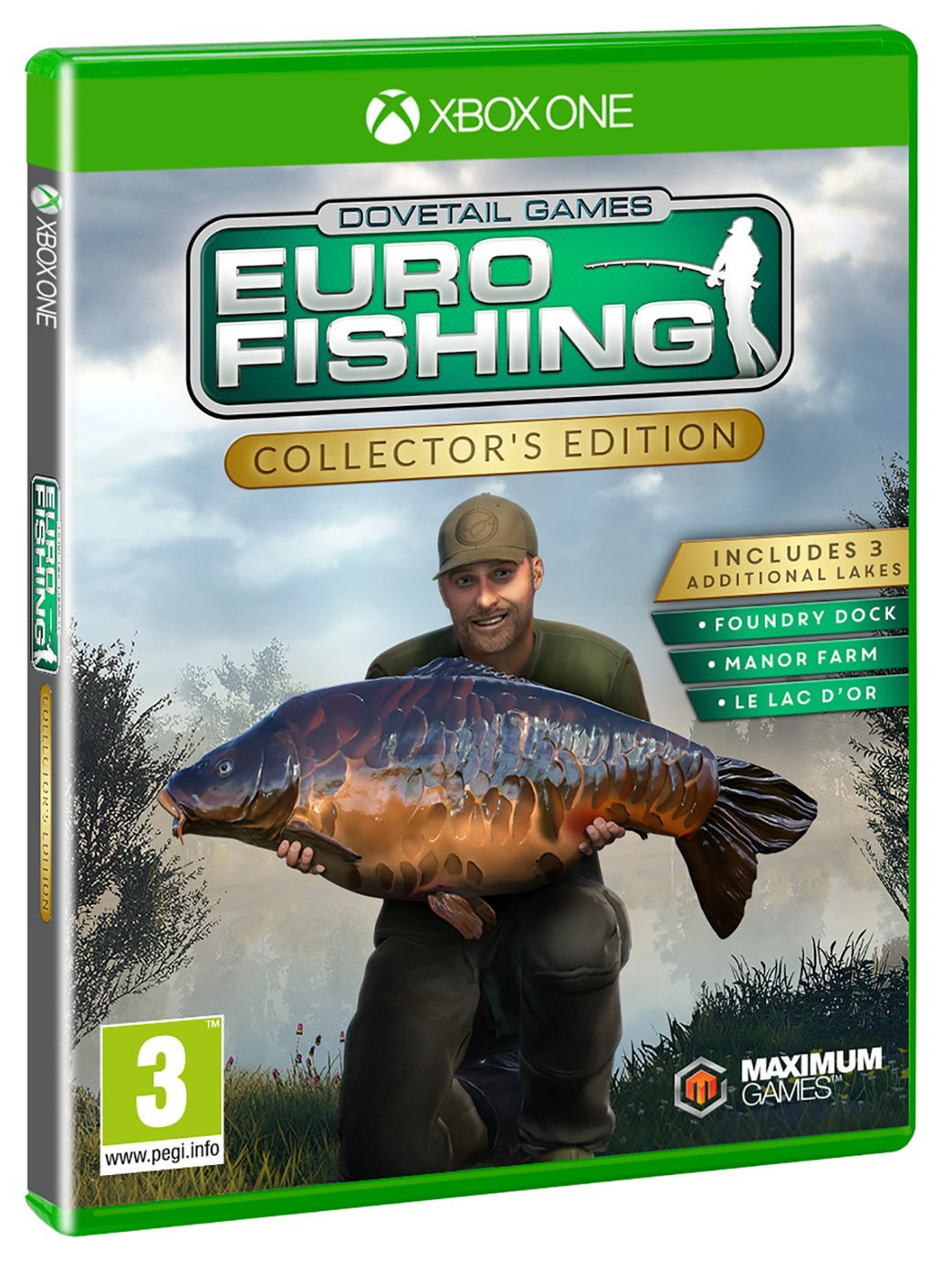 Image of Euro Fishing Sim Collector Edition Xbox One Game
