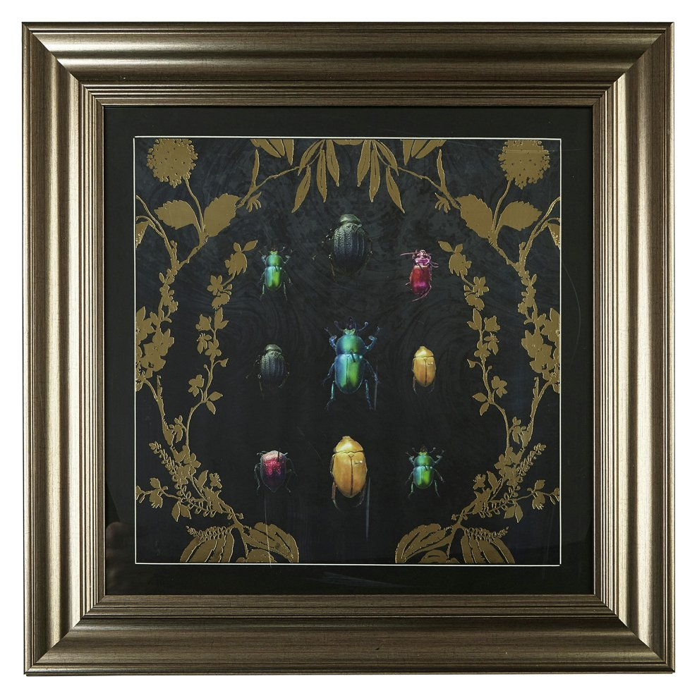 Image of Arthouse Alchemy Bugs Framed Print