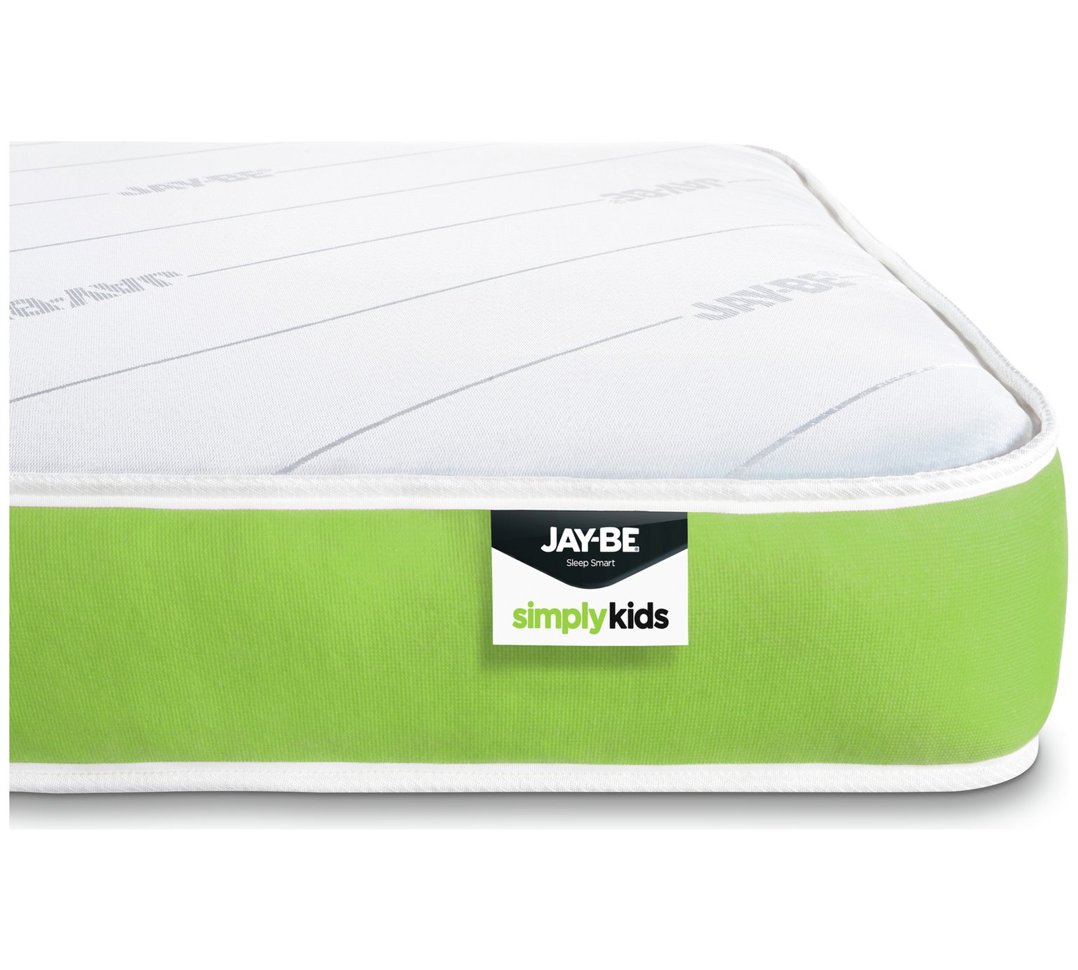 JAY-BE Open Coil Anti-Allergy Kids Single Mattress