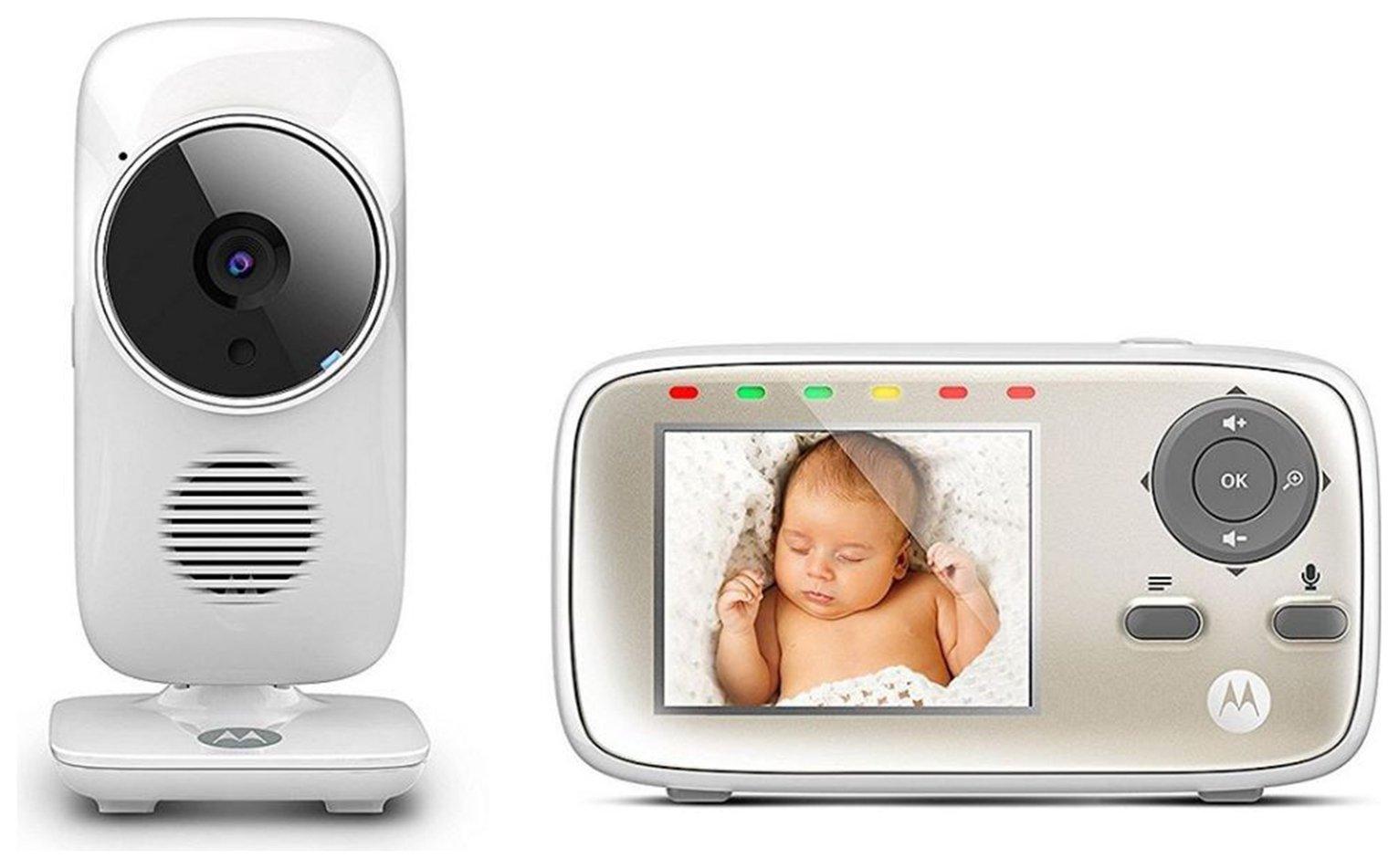 Motorola MBP483 Video Baby Monitor