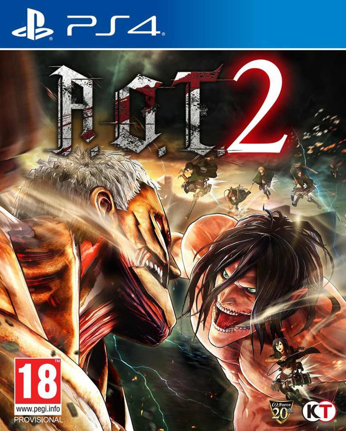 A.O.T. 2 PS4 Game