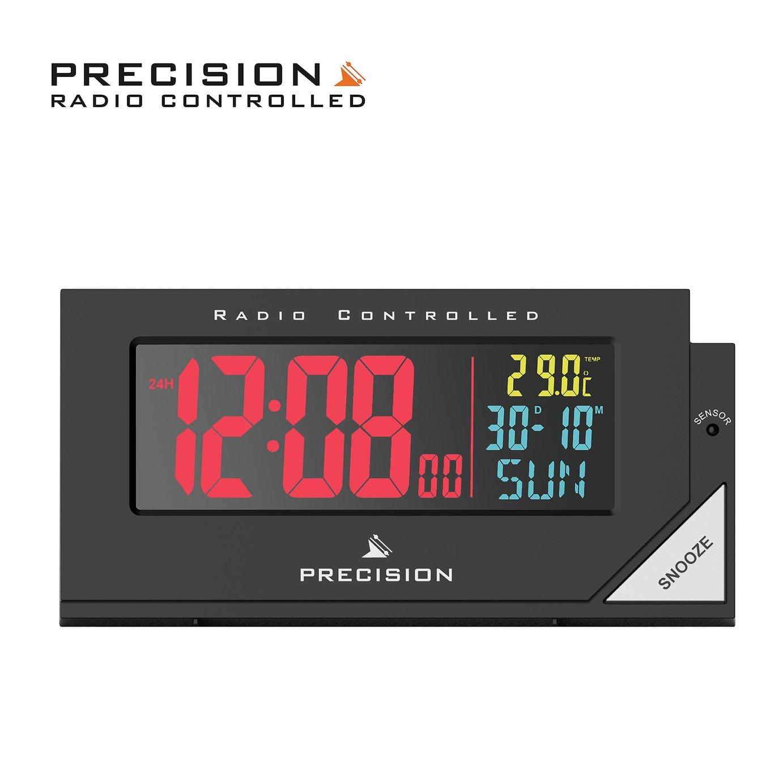 Precision Radio Controlled Colour Display Alarm Clock