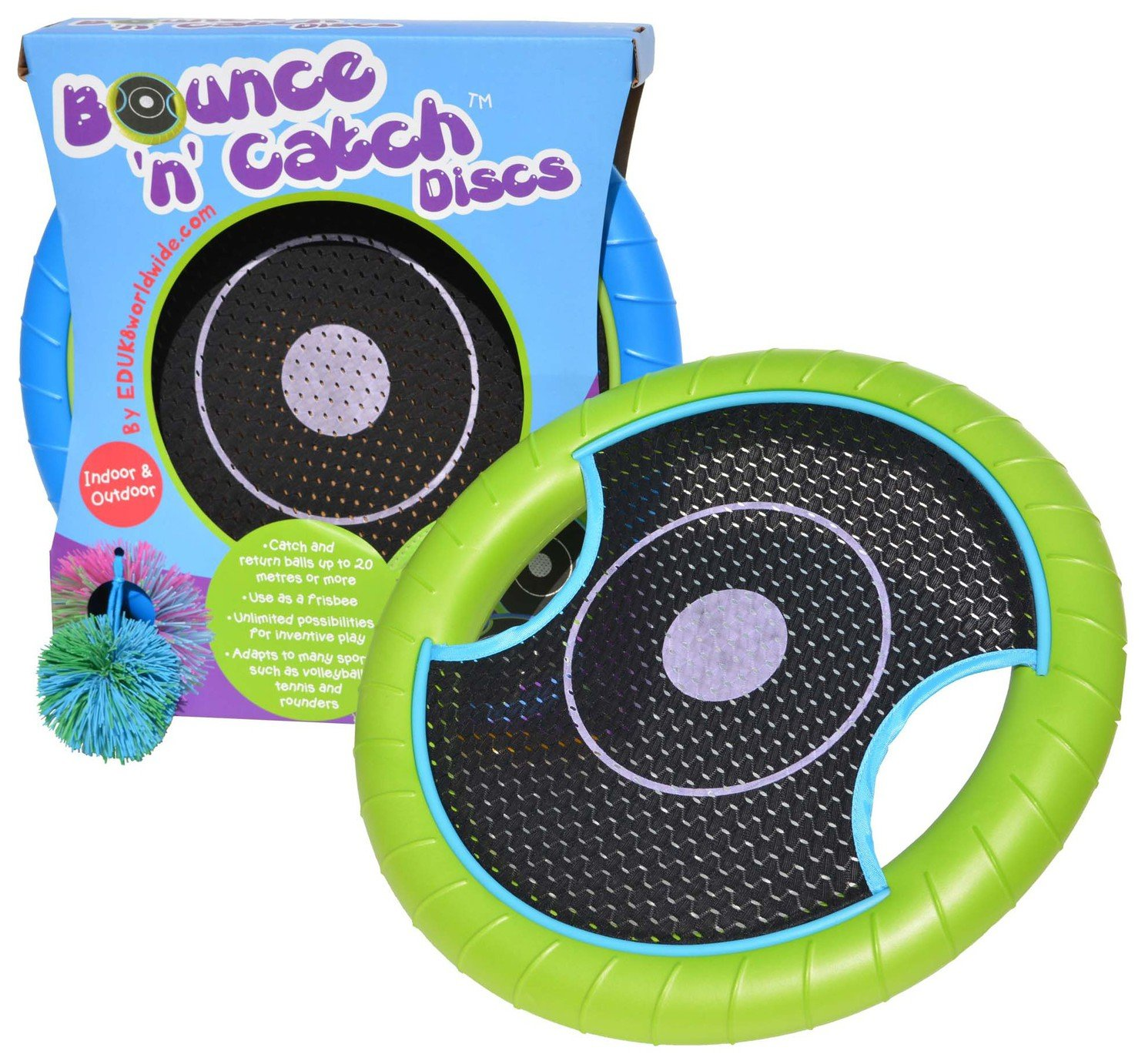 Image of EDUK8 Bounce 'N' Catch Discs
