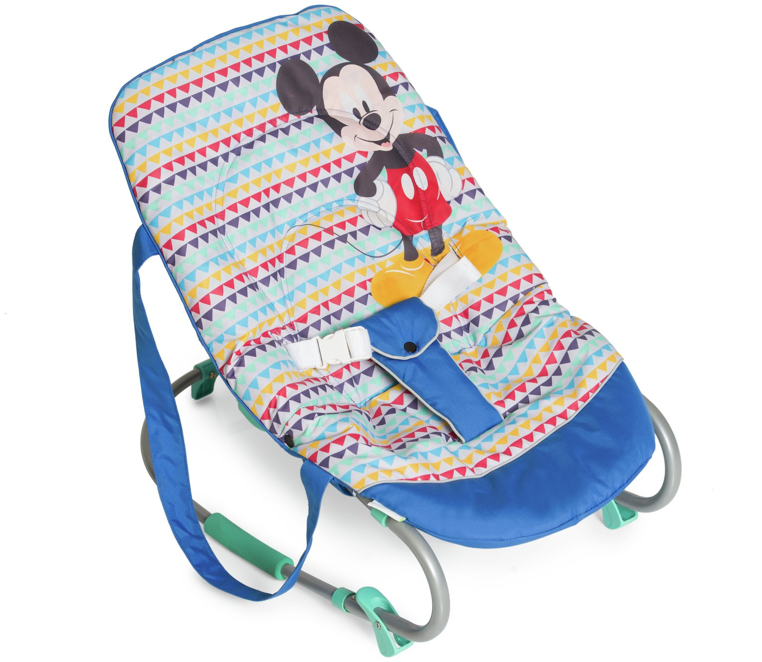 Disney Baby Mickey Mouse Baby Bouncer - Geo Blue Best Price, Cheapest Prices