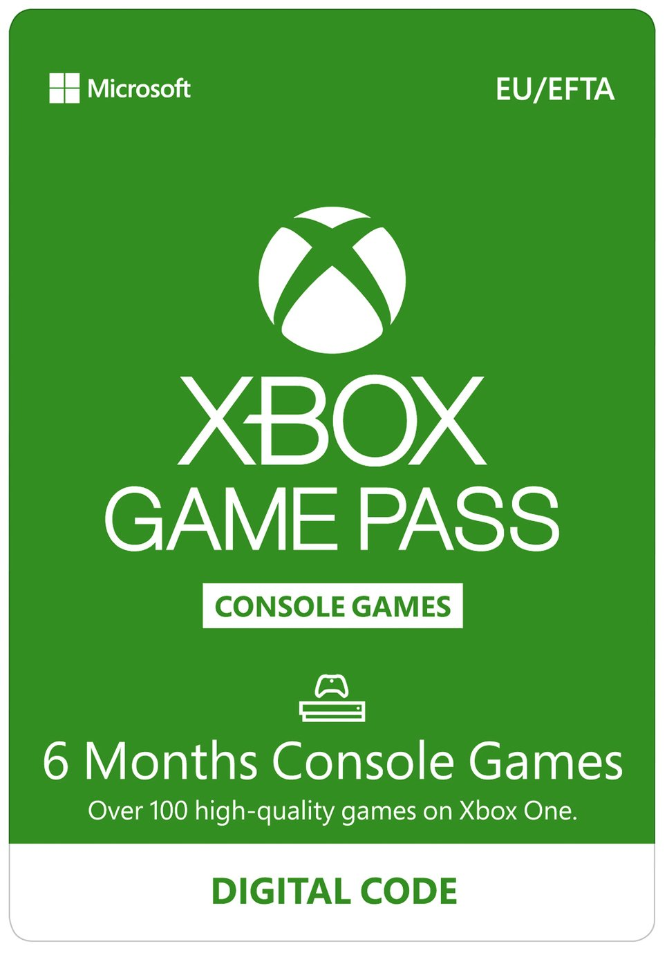 Image of Xbox 6 Month Games Pass