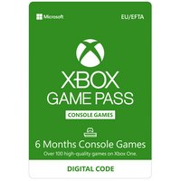 Xbox 6 Month Games Pass