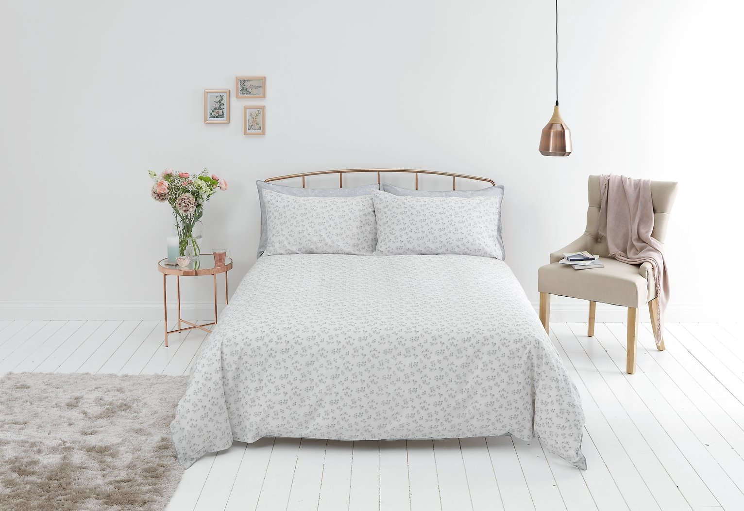 Sainsbury's Home Parisan Maison Floral Bedding Set - Single