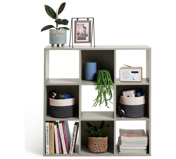 Buy Argos Home Squares 9 Cube Storage Unit