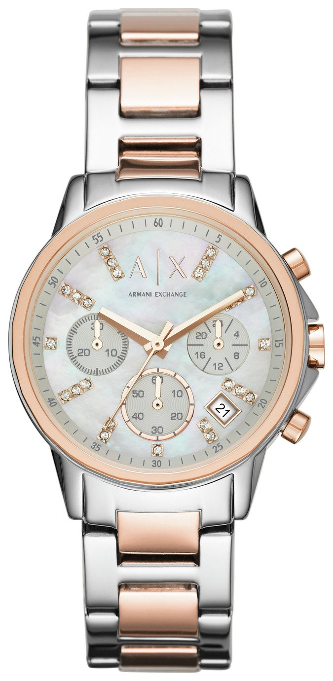 Image of Armani Exchange Ladies' AX4331 Chronograph Bracelet Watch