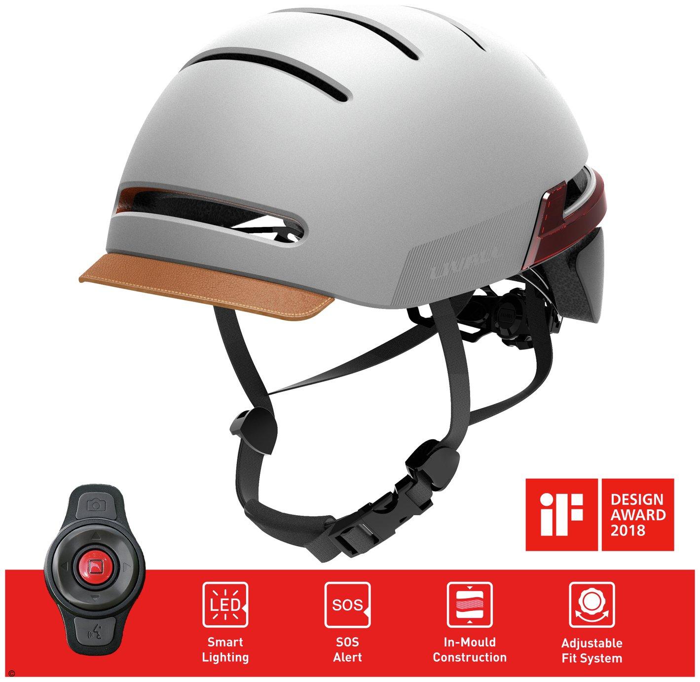 Livall Smart Helmet - Sandstone