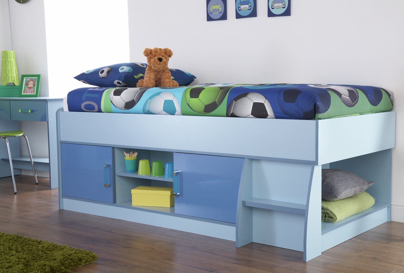 Image of GFW Ottawa 2 Tones Cabin Bed - Blue