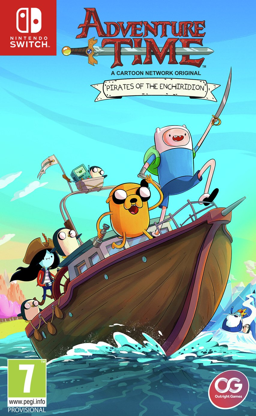 Image of Adventure Time Pirates of Enchiridion Switch Pre-Order Game