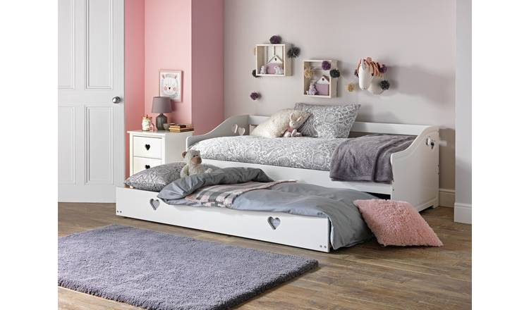Groovy Buy Argos Home Mia White Day Bed | Kids beds | Argos QA43