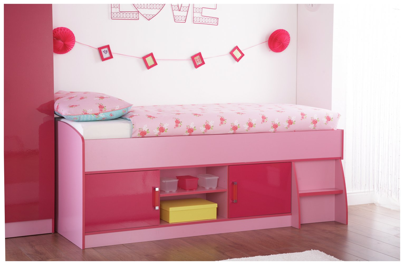 Image of GFW Ottawa 2 Tones Cabin Bed - Pink